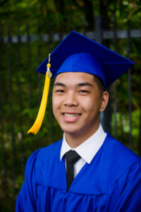 audeo photo of male graduate